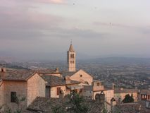 Assisi Cathedral Stock Photo