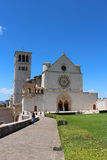 Assisi church Royalty Free Stock Photo