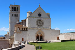 Assisi church Stock Photos