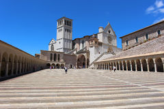 Assisi church Royalty Free Stock Photos