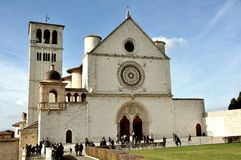 Assisi city , Italy Stock Image