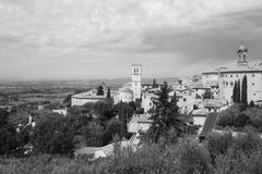 Assisi city Stock Photography