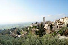 Assisi em Itália Imagens de Stock Royalty Free