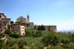 Assisi en Italia Imagen de archivo libre de regalías