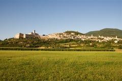 Assisi in estate Fotografie Stock Libere da Diritti