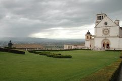 Assisi Frances Fotografia Royalty Free