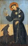 assisi Francis święty zdjęcia stock