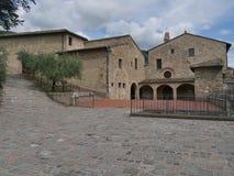 Assisi - fristadSt Damiano royaltyfri foto