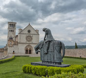 Assisi-Haube Stockfoto