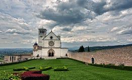 Assisi-Haube italienische Basilika des Heiligen Franziskus Lizenzfreies Stockfoto