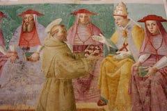 Assisi, Italië, Cappela van roseto Royalty-vrije Stock Afbeelding