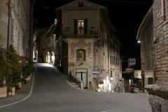 Assisi, Italië, Stedelijk landschap Stock Foto