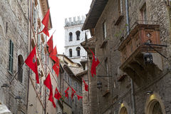 Assisi, Italië Stock Afbeelding
