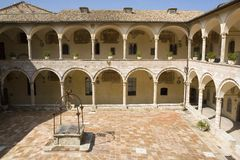 Assisi Italia imagenes de archivo