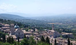 Assisi, Italie photographie stock