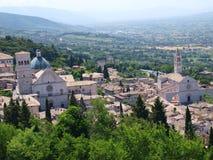 Assisi, Italie Photos libres de droits