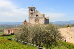 Basilica of Saint Francis of Assisi Royalty Free Stock Images