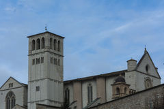 Assisi (Italy) Church Royalty Free Stock Images