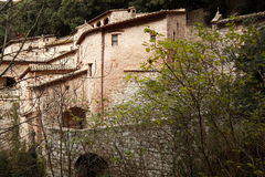 Assisi, Italy, Carceri of St. Francis of Assisi. Carceri of St. Francis of Assisi Royalty Free Stock Photo