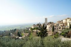 Assisi in Italy Royalty Free Stock Images