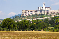 Free Assisi, Italy. View Of The Basilica Of San Francesco. Royalty Free Stock Photo - 57661305