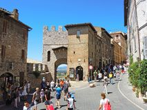 Assisi, Italy. Views at the streets of the old city center a Unesco world heritage Stock Photo