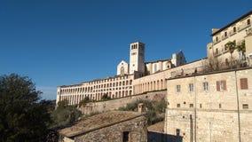 Assisi: kleine stad in het gebied van Umbrië, Italië Stock Foto's