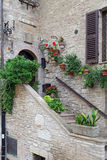 Assisi, kleine stad van Umbrië Stock Foto