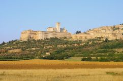 Assisi Royaltyfria Foton