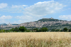Assisi - l'Ombrie - l'Italie - l'Europe Photo stock