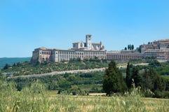 Assisi landscape - Umbria Italy Stock Photos
