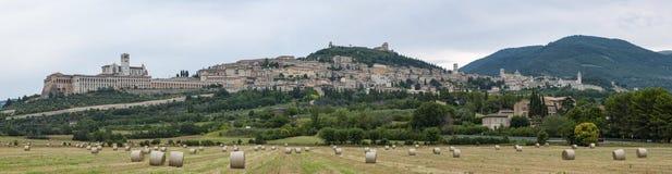 Assisi-Landschaft Stockbild