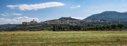 Assisi-Landschaft Stockbilder