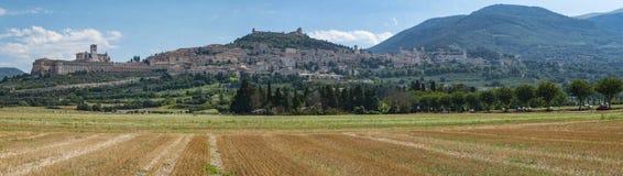 Assisi-Landschaft Lizenzfreies Stockbild