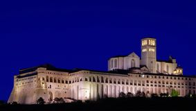 Assisi night Stock Photography