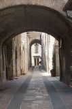 Assisi, old street Stock Images