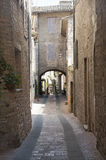 Assisi, old street Royalty Free Stock Photo
