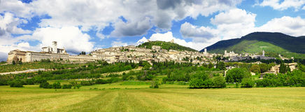 Assisi, Ombrie, Italie Photos libres de droits