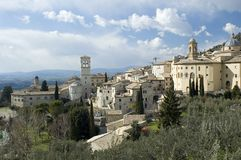 Assisi panorama Stock Image