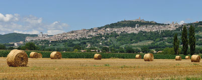 Assisi panorama Stock Photography