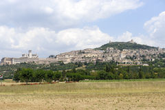 Assisi, panoramic view Royalty Free Stock Photos