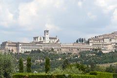 Assisi, panoramic view Royalty Free Stock Photos