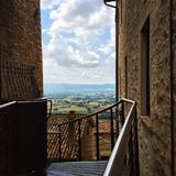 Assisi. This is a photo took in the cittadel of assisi, a small but amazing city in italy Royalty Free Stock Photography