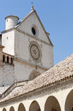 Assisi, San Francesco Royalty Free Stock Photography