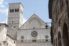 Assisi, San Rufino Royalty Free Stock Photos