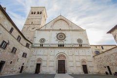 Assisi, San Rufino Royalty Free Stock Image