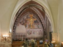 Free Assisi - St. Chiara Church Royalty Free Stock Photography - 125946327