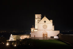 Assisi St. Francis basilica Royalty Free Stock Photography