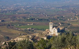 Assisi St. Francis basilica Stock Photos
