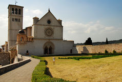 Assisi St. Francis church Royalty Free Stock Images